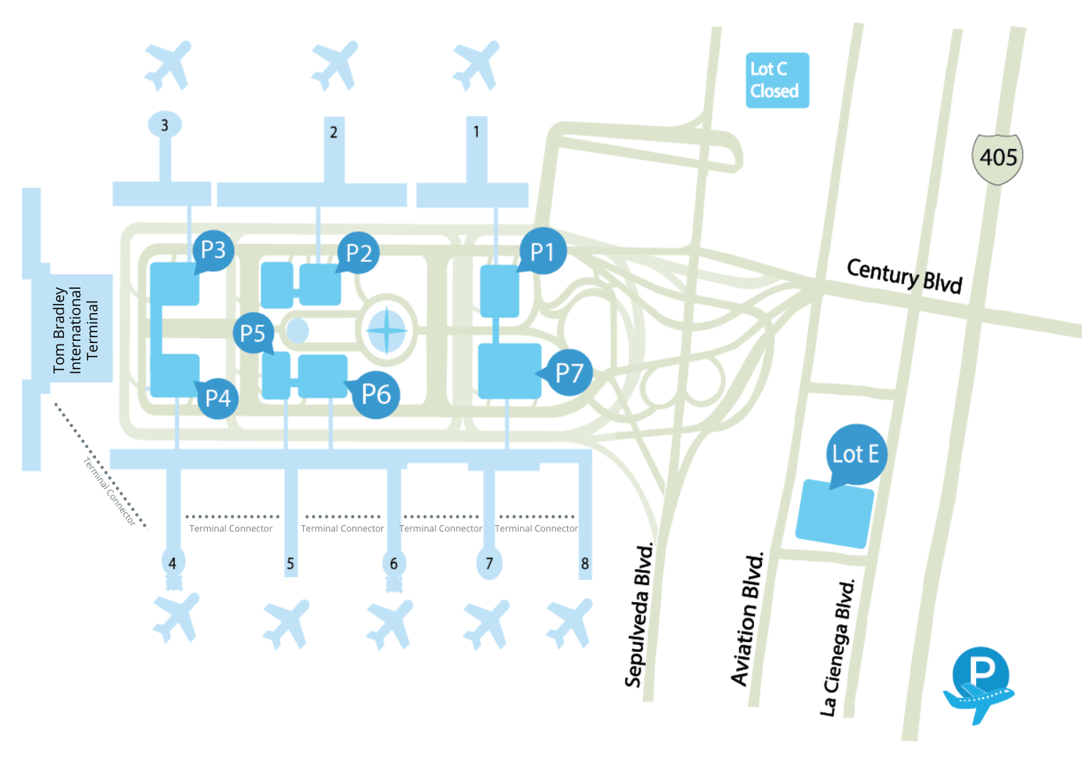 LAX Airport Terminal Guide